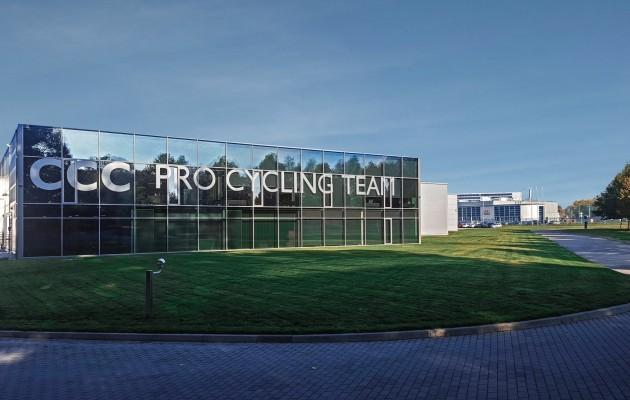 Siedziba CCC Cycling Team